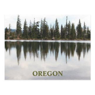Cartão Postal Lago Oregon Carl