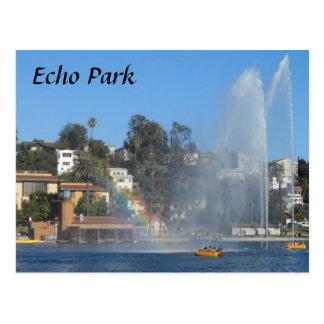 Cartão Postal Lago park do eco