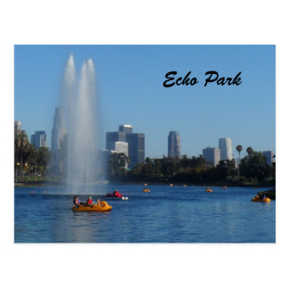 Cartão Postal Lago park do eco - Los Angeles