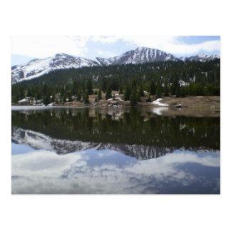 Cartão Postal Lago reflection