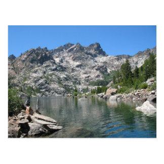Cartão Postal Lago sardine & serra superiores montículos