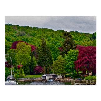 Cartão Postal Lago Windermere Inglaterra