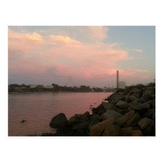 Cartão Postal Lagoa de Carlsbad