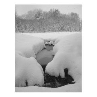 Cartão Postal Lagoa do inverno