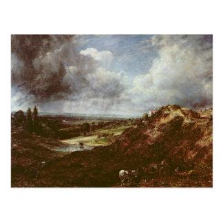 Cartão Postal Lagoa do monte do ramo, charneca de Hampstead,