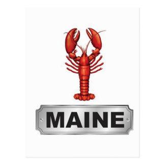Cartão Postal Lagosta de Maine