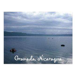 Cartão Postal Laguna Glassy de Appoyo, Granada, Nicarágua