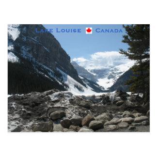 Cartão Postal Lake Louise Alberta Canadá