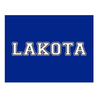 Cartão Postal Lakota