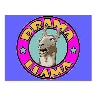 Cartão Postal Lama do drama,