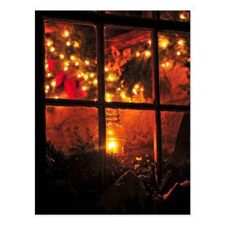 Cartão Postal Lanterna na noite