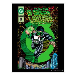 Cartão Postal Lanterna verde - toda começa aqui