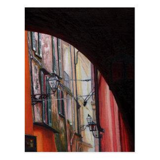 Cartão Postal Lanternas 2012 de Menaggio