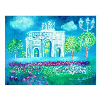 Cartão Postal L'Arc de Triomphe