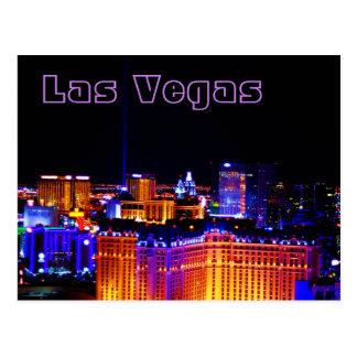 Cartão Postal Las Vegas - luz no céu