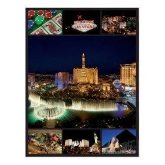 Cartão Postal Las Vegas - os Estados Unidos