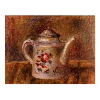 Cartão Postal Lata molhando por Renoir