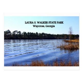 Cartão Postal LAURA S. CAMINHANTE PARQUE ESTADUAL - Waycross,