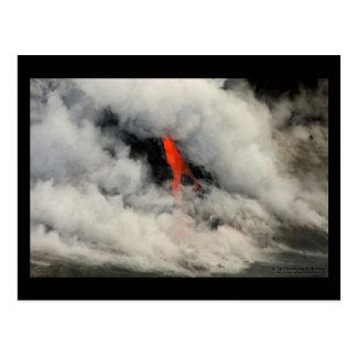 Cartão Postal Lava encoberta 2 - Havaí