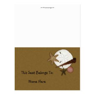 Cartão Postal Lavado em terra apresente a barraca