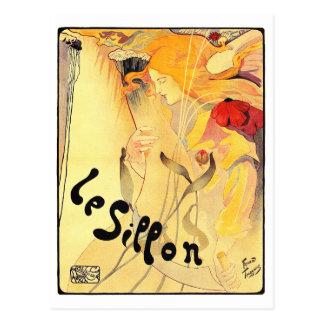 Cartão Postal Le Sillon, Fernand Toussaint