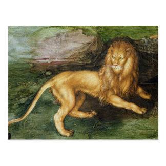 Cartão Postal Leão