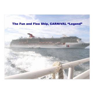 Cartão Postal Legenda d do carnaval