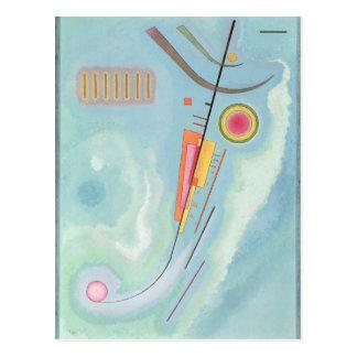 Cartão Postal Leger, arte abstracta, 1930