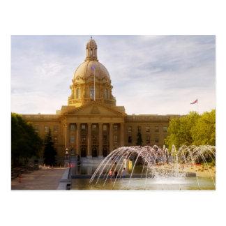 Cartão Postal Legislatura de Alberta