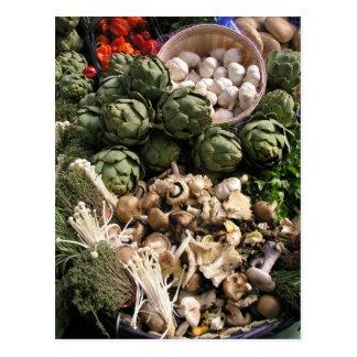Cartão Postal Legumes misturados