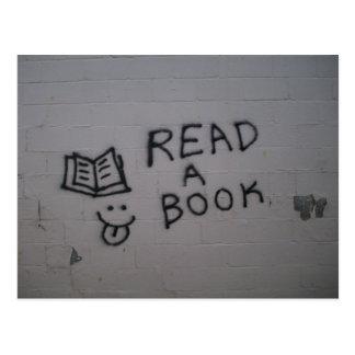 Cartão Postal Leia um livro