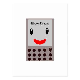 Cartão Postal Leitor feliz 1 de Ebook