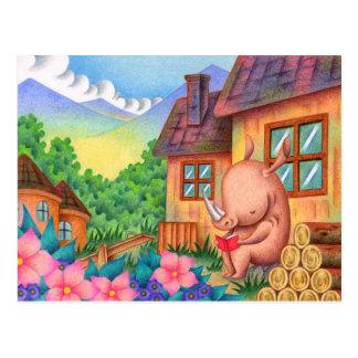 Cartão Postal Leitura