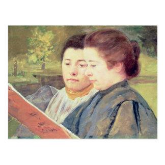 Cartão Postal Leitura das mulheres