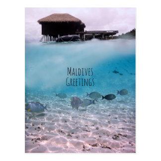 Cartão Postal Lembrança Snorkeling do divertimento dos