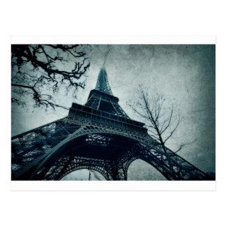 Cartão Postal lembranças da torre Eiffel