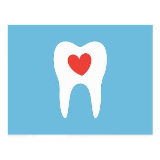 Cartão Postal Lembrete dental da nomeação da clínica do