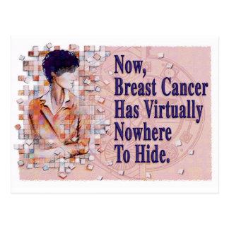 Cartão Postal Lembrete do mamograma