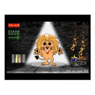 Cartão Postal Leo