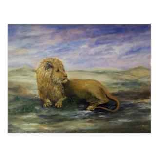 Cartão Postal Leo o rei do leão