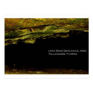 Cartão Postal Leon afunda a área Geological
