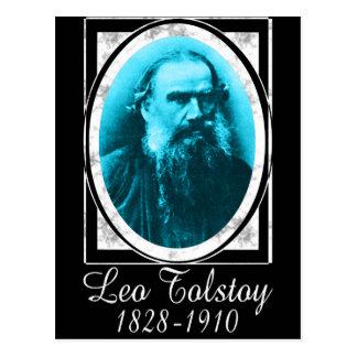 Cartão Postal Léon Tolstói
