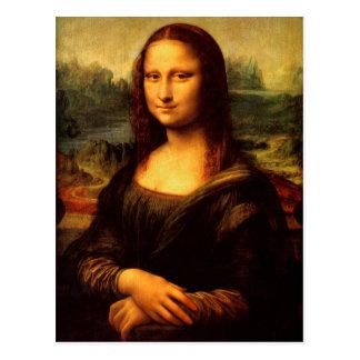 Cartão Postal LEONARDO DA VINCI - Mona Lisa, La Gioconda 1503