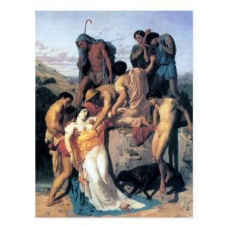 Cartão Postal Les Bergers da paridade de Bouguereau - de Zénobia