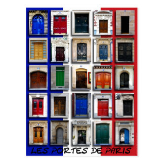 Cartão Postal Les Portes De Paris