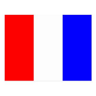 Cartão Postal Letra náutica T do sinal da bandeira do alfabeto