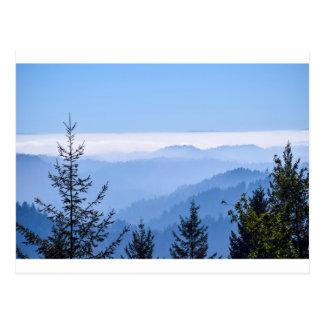 Cartão Postal Levantamento da névoa