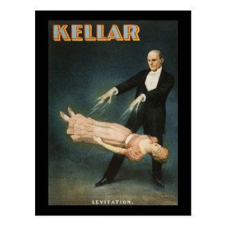 Cartão Postal Levitação 2 de Kellar