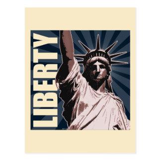 Cartão Postal Liberdade