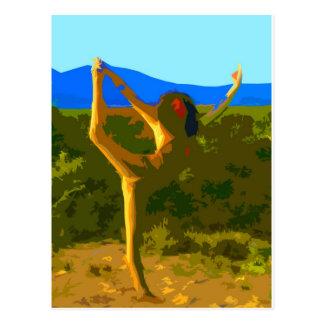 Cartão Postal Liberdade da ioga